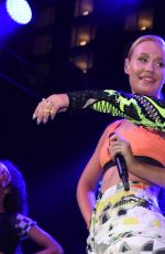 RITA ORA and IGGY AZALEA Performs at SLS Las Vegas Grand Opening