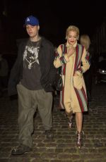 RITA ORA Arrives at Chiltern Firehouse in London 1109