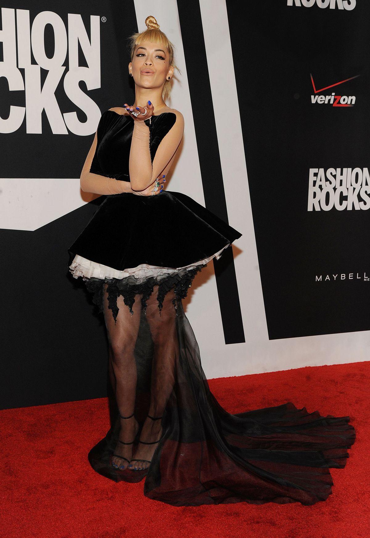RITA ORA at Fashion Rocks 2014 in New York