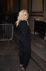 RITA ORA at Stella Mccartney Green Carpet Collection Fashion Show in London