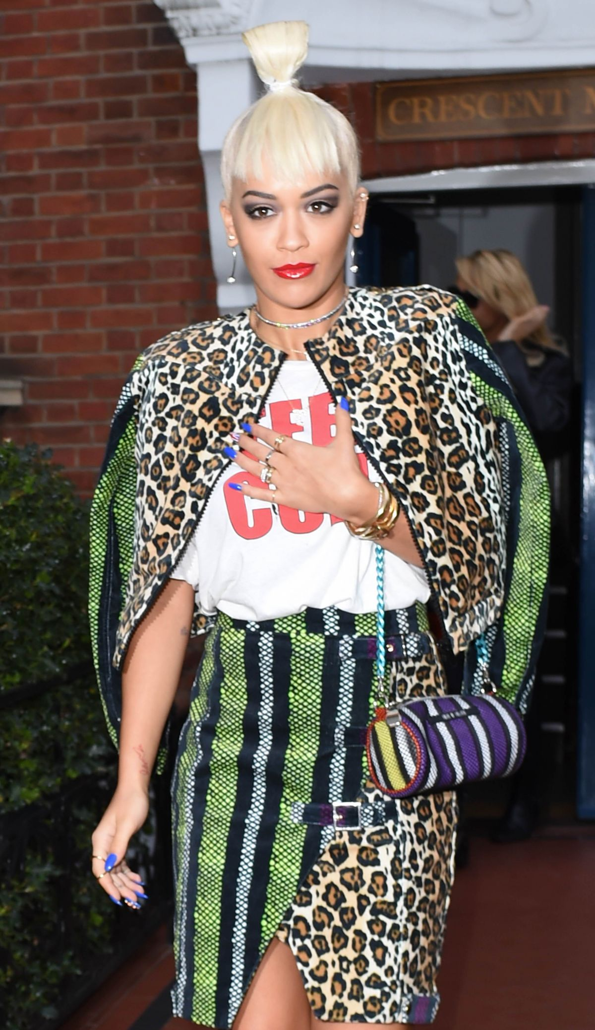RITA ORA Out and About in London 1309