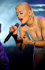 RITA ORA Performs at 02 Shepherd