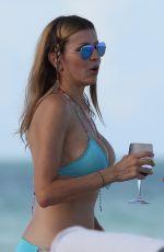 RITA RUSIC in Bikini at a Beach in Miami 0709