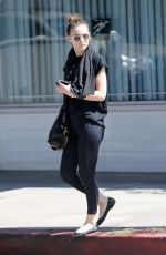 ROONEY MARA Out and About in Studio City