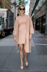 ROSAMUND PIKE Arrives at Today Show in New York