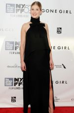 ROSAMUND PIKE at Gone Girl Premiere in New York