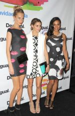 ROSARIO DAWSON at Desigual Fashion Show in New York