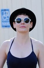 ROSE MCGOWAN in Tank Top Out and About in Los Angeles 2909