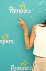 ROSELYN SANCHEZ at Pampers Babygotmoves Campaign Launch in Los Angeles