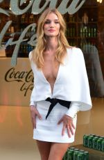 ROSIE HUNTINGTON-WHITELEY at Coca-cola Life Launch in London