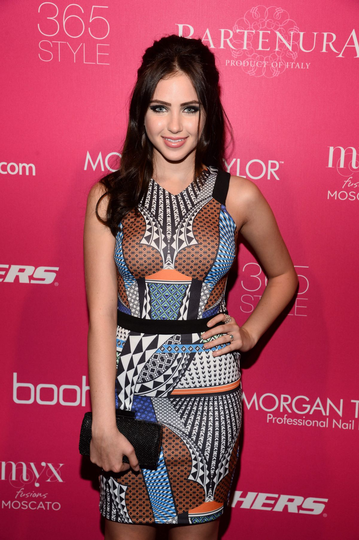 RYAN NEWMAN at OK! Fashion Week Party in New York