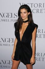 SARA SAMPAIO at at Russell James' Angel Book Launch in New York