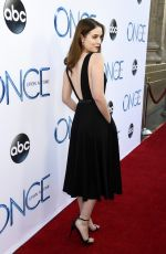 SARAH BLOGER at Once Upon A Time Season 4 Screening in Hollywood