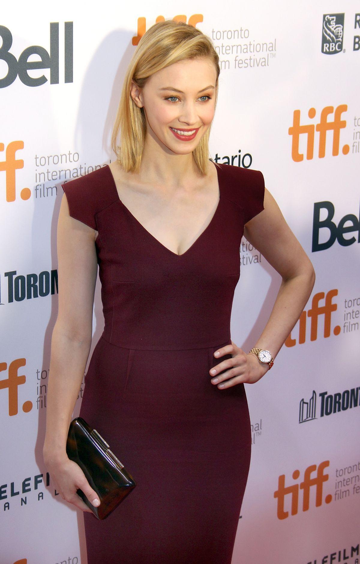 SARAH GADON at Toronto International Film Festival 2014