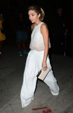 SARAH HYLAND Leaves William Morris Agency Party in Los Angeles