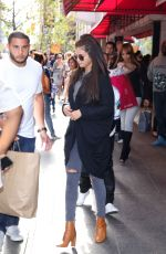 SELENA GOMEZ and Justin Bieber Out and About in Toronto 0609