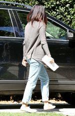 SELENA GOMEZ Heading to a Studio in Silverlake