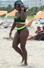 SERENA WILLIAMS in Bikini at a Beach in Miami