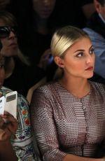 SERINDA SWAN at Francesca Liberatore Fashion Show in New York