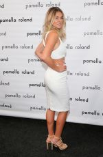 SERINDA SWAN at Pamella Roland Fashion Show in New York