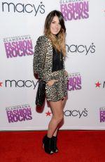 SHENAE GRIMES at Fashion Rocks 2014 in New York