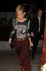 SIENNA MILLER Leaves An0ther Magazine Party in London