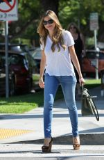 SOFIA VERGARA in Tight Jeans Out in Los Angeles