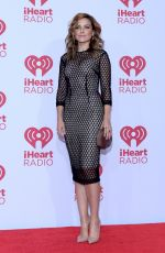 SOPHIA BUSH at 2014 Iheartradio Music Festival in Las Vegas