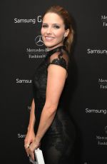 SOPHIA BUSH at Samsung Lounge at Mercedes-Benz Fashion Week in New York