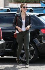 SOPHIA BUSH Heading to a Hair Salon in Beverly Hills