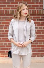 SOPHIA BUSH Out and About in Chicago