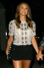 STACY KEIBLER Arrives at Mr. Chow in Beverly Hills