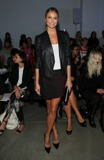 STACY KEIBLER at Helmut Lang Fashion Show in New York