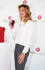 STEFFI GRAF at Tea Lounge New Teekanne Presentation in Hamburg