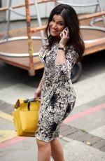 SUSANNA REID Leaves a Studios in London