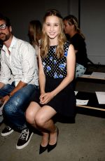 TAISSA FARMIGA at Thakoon Fashion Show in New York