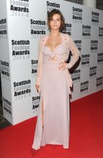 TALI LENNOX at Scottish Fashion Awards 2014 in London