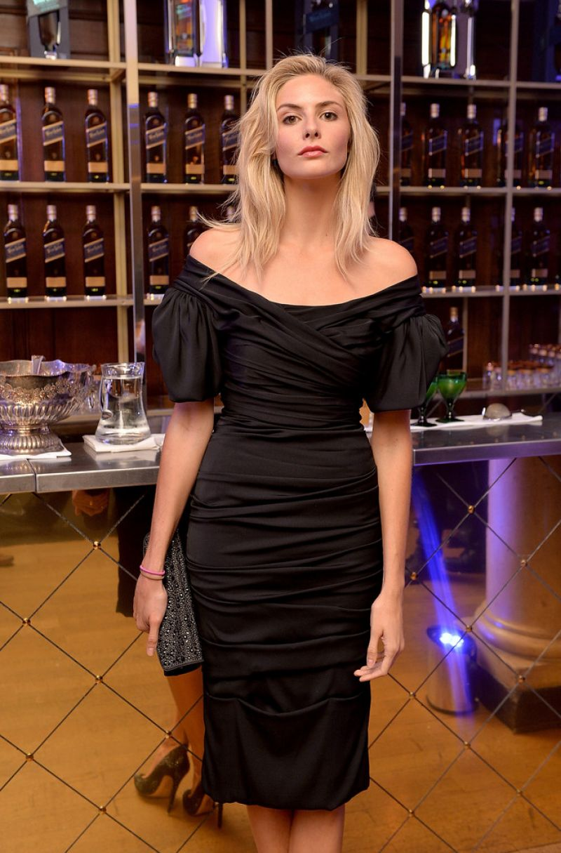 TAMSIN EGERTON at Symphony in Blue: A Journey to the Centre of the Glass in London