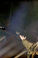TAYLOR MOMSEN Performs at Iheartradio Music Festival in Las Vegas