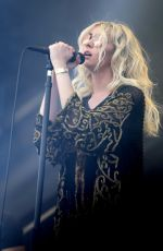 TAYLOR MOMSEN Performs at Iheartradio Music Festival in Las Vegas