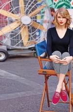 TAYLOR SWIFT - Dewey Nicks Photoshoot for Keds Collection