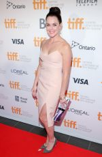 TESSA VIRTUE at Toronto International Film Festival Gala