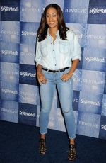 TIA MOWRY at People Stylewatch Denim Party in Los Angele