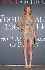 TONI GARRN at Vogue 50 Archive Party in Milan