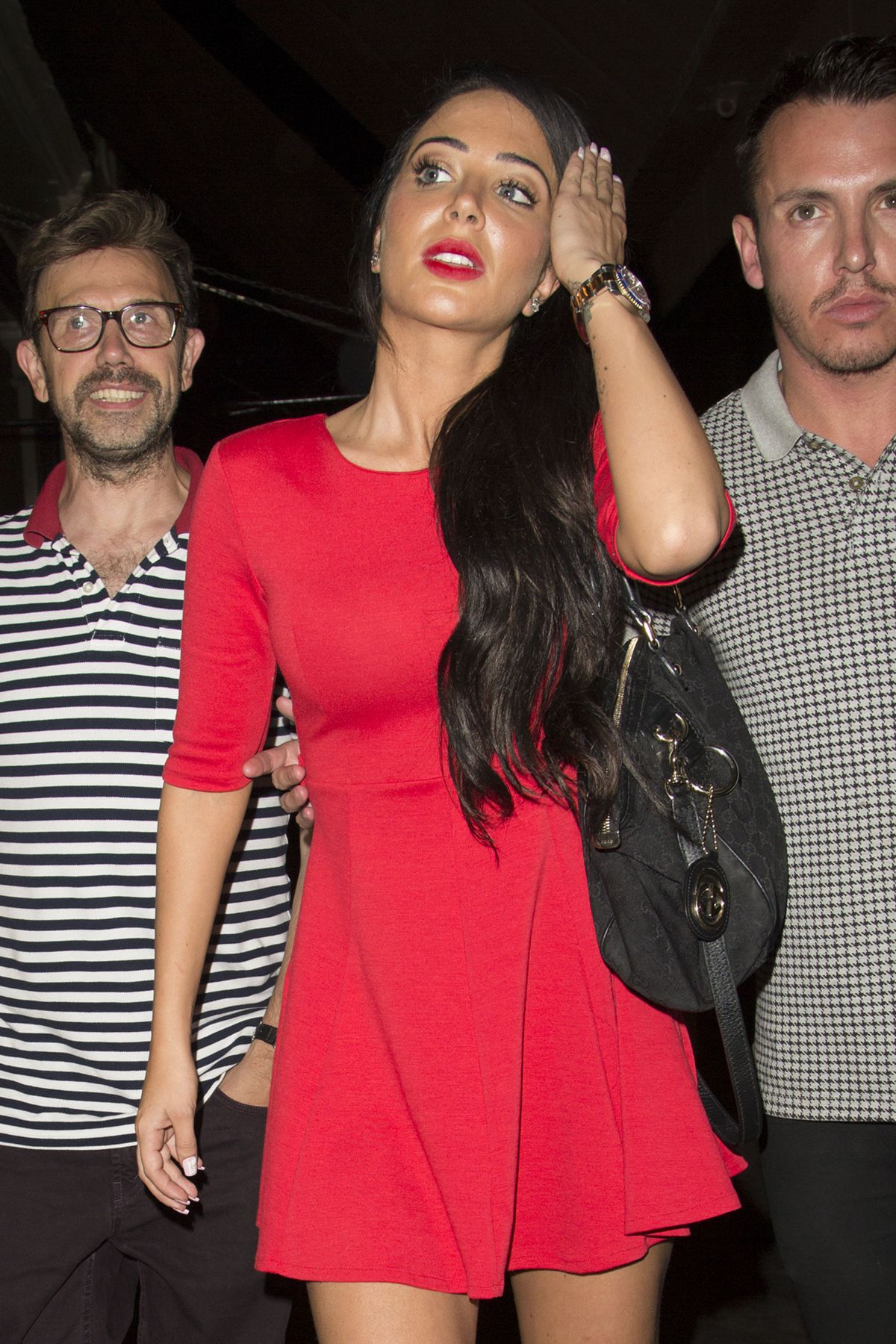 TULISA CONTOSTAVLOS Night Out in London