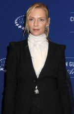UMA THURMAN at 2014 Clinton Global Citozen Awards in New York