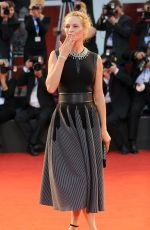 UMA THURMAN at Nmphomaniac Volume 2 Directors Cut Premiere in Venice