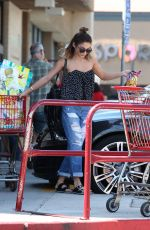 VANESSA HUDGENS at Grocery Shopping in Los Angeles