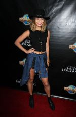 VANESSA HUDGENS at Halloween Horror Nights Eyegore Awards in Los Angeles