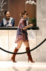 VANESSA HUDGENS at the Grove in West Hollywood